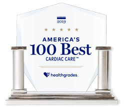 healthgrades america's 100 best cardiac care 2019